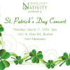 St. Patrick's Day Concert