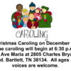 Nativity Caroling at Ave Maria Home
