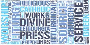 Liturgy Word Cloud